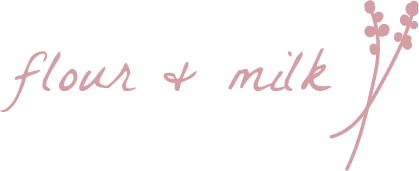 Flour and Milk Logo
